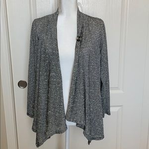 AB Studio Long Sleeve Cardigan